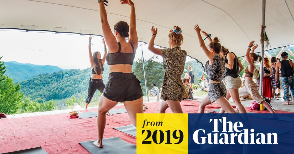 Boom In Wellness At Festivals As Young People Swap Hedonism For Yoga Culture The Guardian