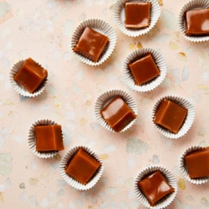 Yotam Ottolenghi's edible Christmas gifts – miso caramels.