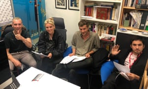 Wolf Alice at the Guardian's London office for a web chat