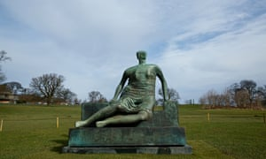 Henry Moore's Draped Seated Woman is the property of Tower Hamlets council now.
