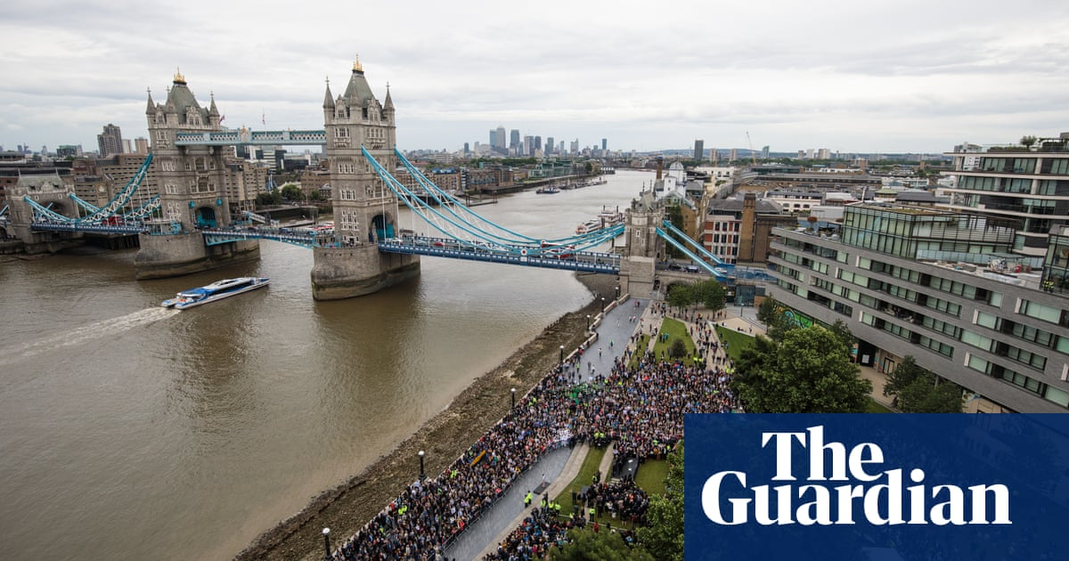 84877267fb46 Vigil for the victims of London Bridge attacks – in pictures   UK news    The Guardian