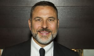 David Walliams, possibly with an imaginary friend or two.