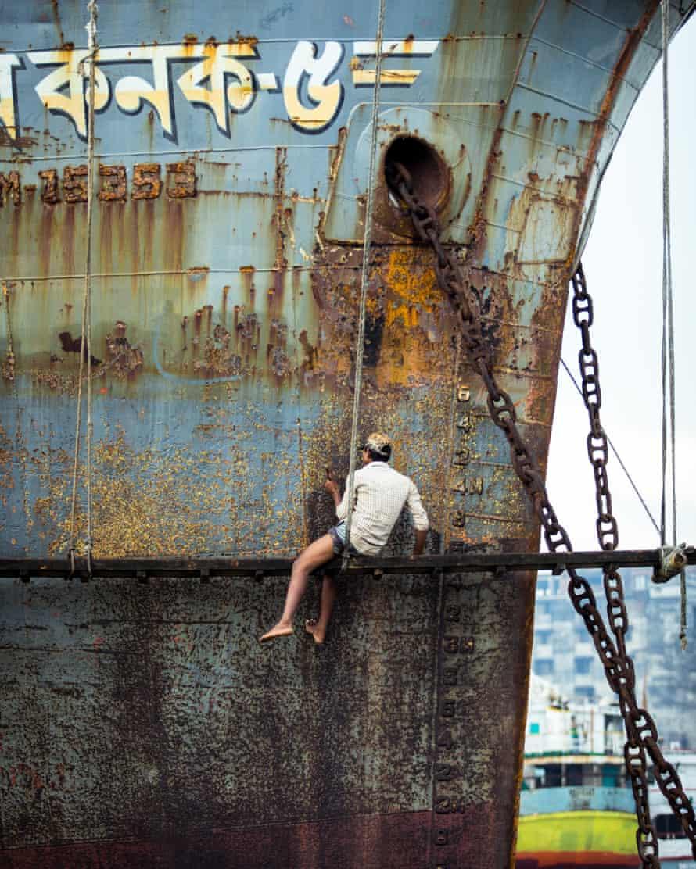A ship in Bangladesh