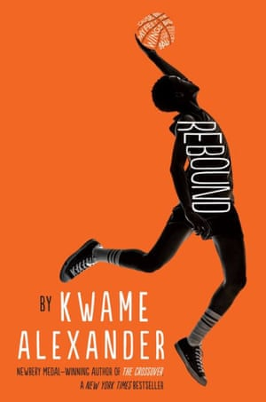 Rebound by Kwame Alexander is on the shortlist for the 2019 Carnegie medal for children's literature.