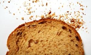 Slice of Hovis Granary bread.