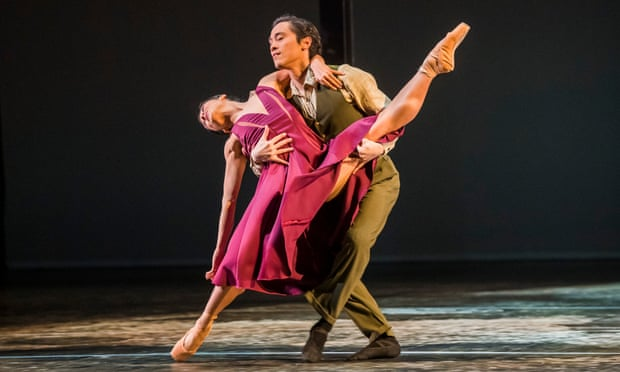 Boldness and finesse … Crystal Costa and Jeffrey Cirio in Nora.