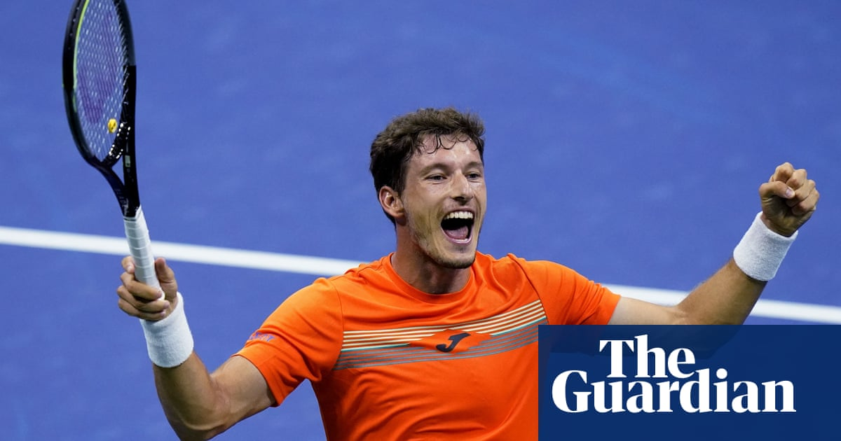 Pablo Carreño Busta lining up unlikely hat-trick of US Open upsets | Kevin Mitchell