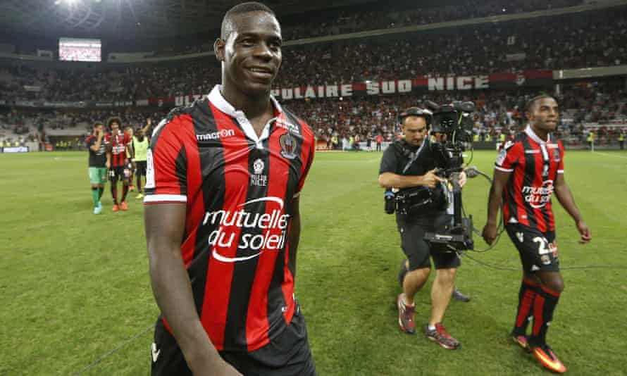 Nice's Mario Balotelli says he was the target of racial abuse in Bastia