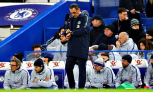 Time may be running out for Maurizio Sarri at Chelsea, despite the possibility of silverware on Sunday.