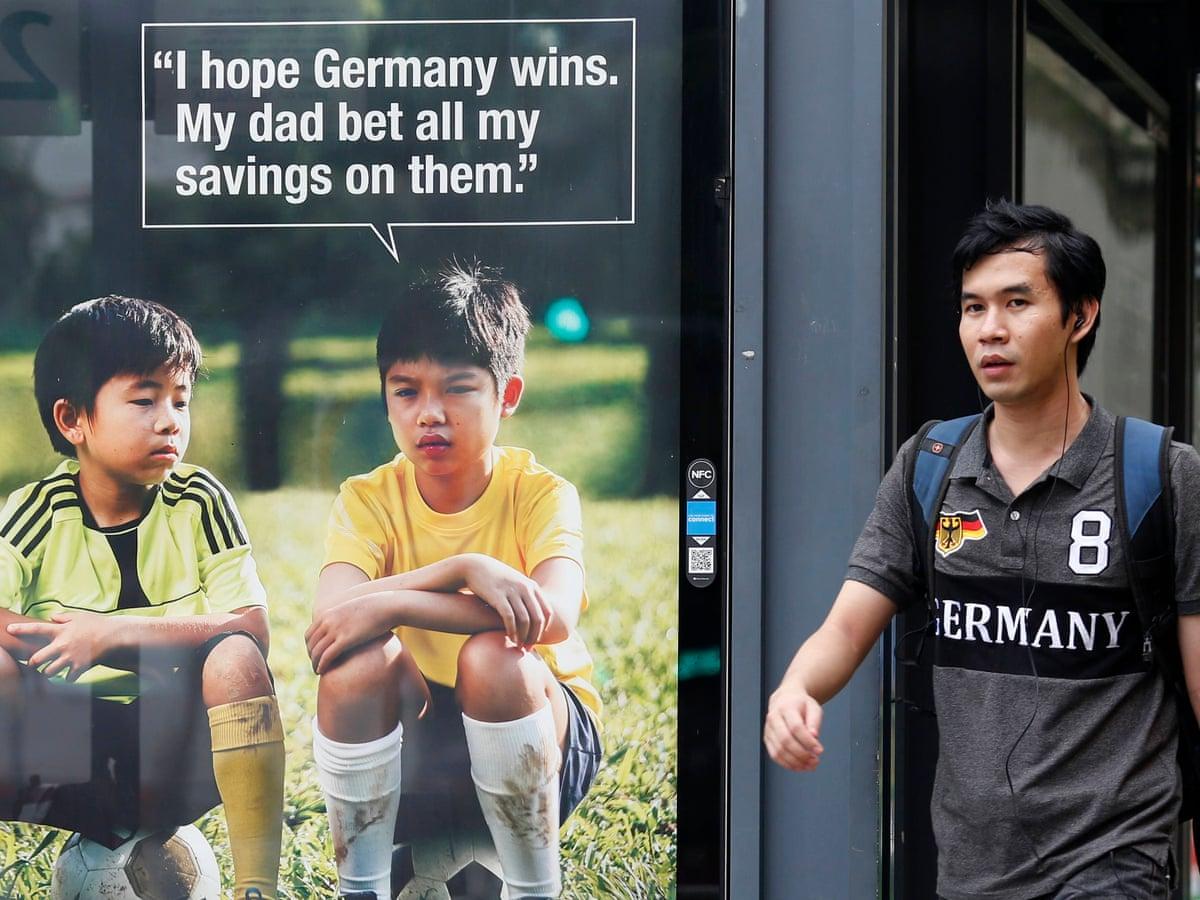 Football betting advert walt bettinger the person
