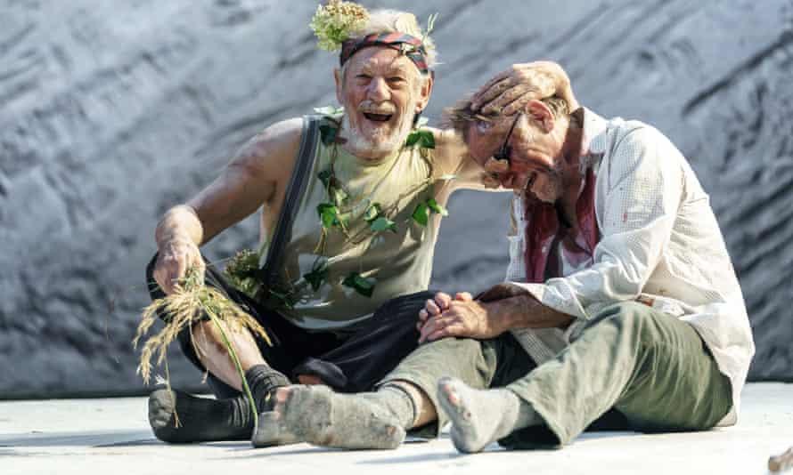 Ian McKellen in King Lear