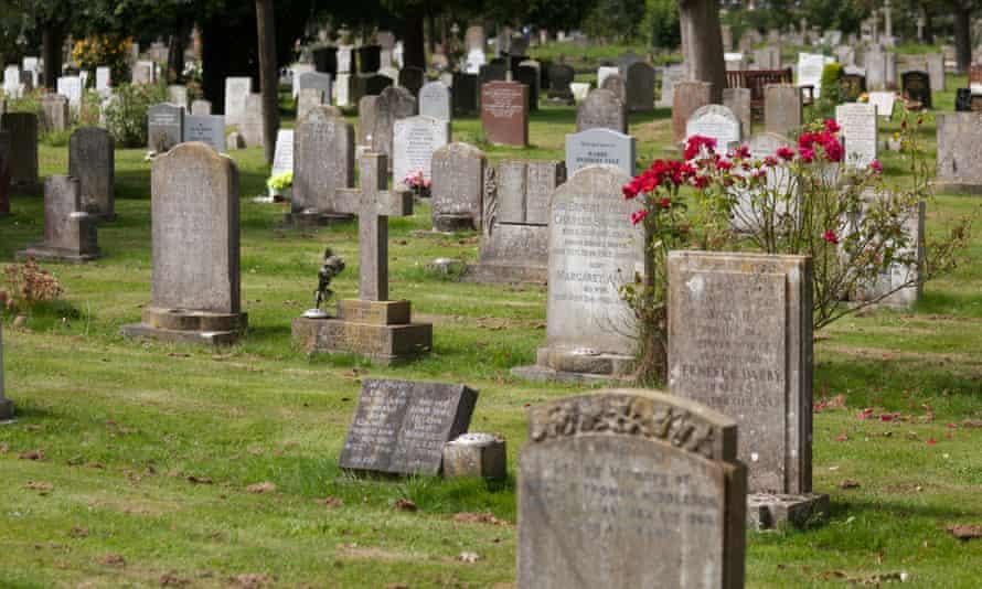 A churchyard