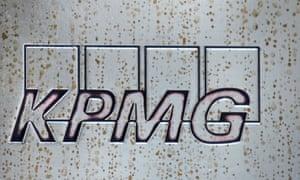 KPMG HQ nameplate
