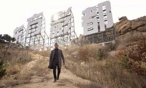 John Boyega on the set of Pacific Rim: Uprising in Qingdao.