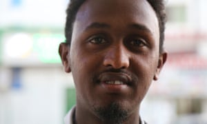 Mohamed, 23, uses social media to spread the message