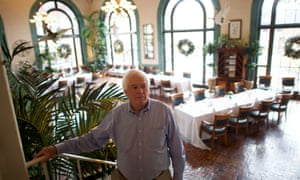 Bruce Haines, the proprietor of the Historic Hotel Bethlehem