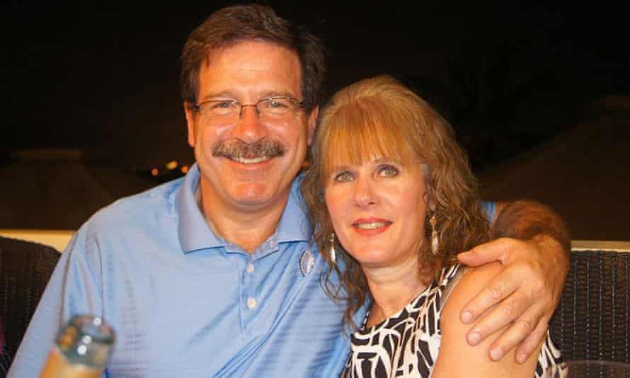 School psychologist Mary Sherlach and her husband Mark Sherlach.