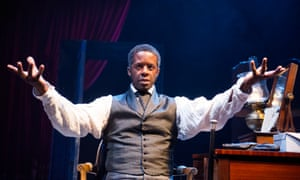 Adrian Lester as Ira Aldridge in Red Velvet.