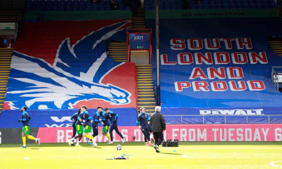 Crystal Palace hope the money invested by John Textor will help to redevelop Selhurst Park.