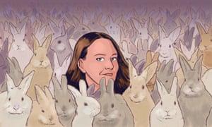 Dorota Trec: 'I will have rabbits forever.'