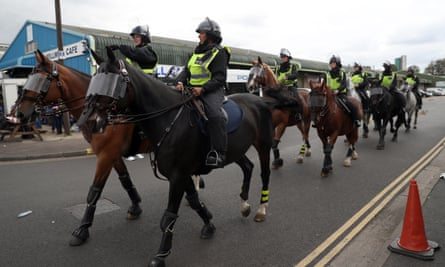 A report last season said high deployment of officers, including those trained for riot and public order control, was often unnecessary and could increase tensions.