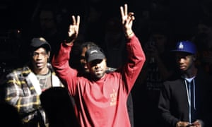 Kanye West at the unveiling of his Yeezy collection and album The Life of Pablo at Madison Square Garden in New York.