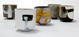 Porcelain Beakers, by Hannah Tounsend