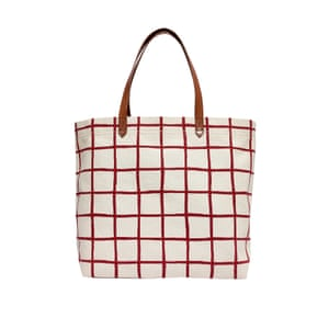 Windowpane check bag, £62.72, madewell.com