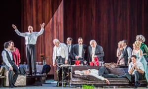 Hell is other people... The Exterminating Angel by Thomas Adès at the Royal Opera House.
