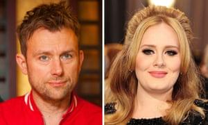 Negative feedback … Albarn and Adele.