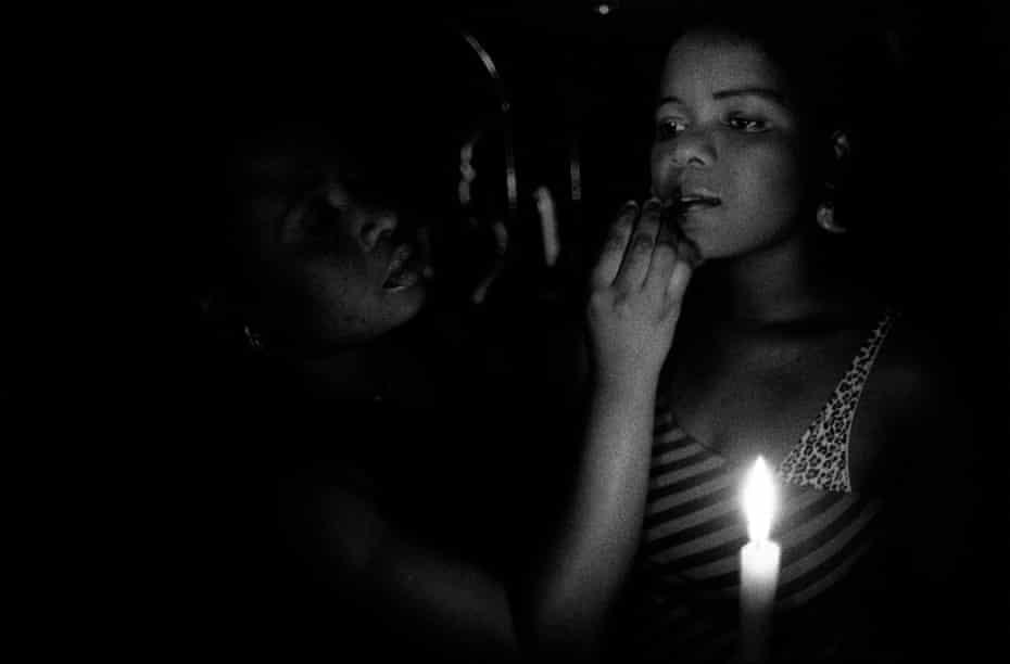 A sex worker in rural Zambia