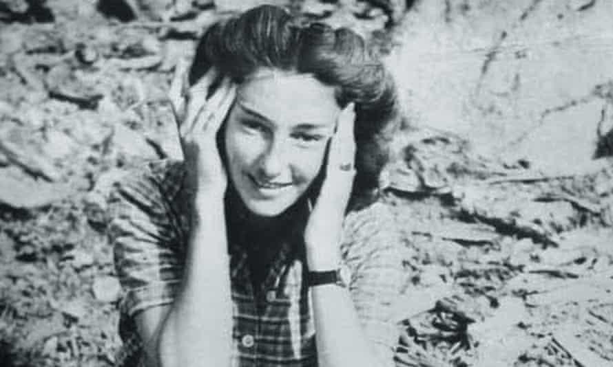 Krystyna Skarbek, aka Christine Granville, pictured in France, August 1944