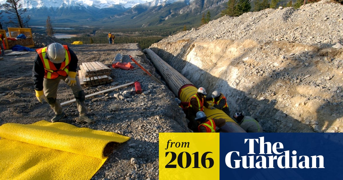 Canada approves controversial Kinder Morgan oil pipeline | World