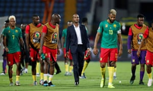 Cameroon failed to cement a place in the last 16 after a draw,