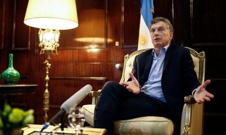 President Mauricio Macri's use of the term 'dirty war' echoed denialist thinking.