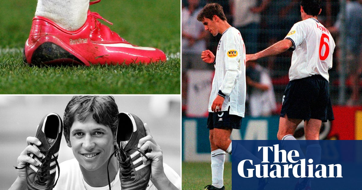 Nicklas Bendtner, Martin Keown and the ubiquity of pink football boots
