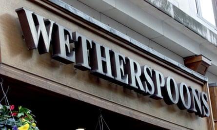 A JD Wetherspoon pub in London