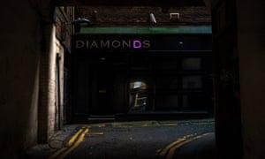 A closed nightclub in Newcastle