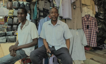Local business owners such as Kubo Barabye are concerned new plans for pedestrianisation and cycle lanes will impact their businesses.
