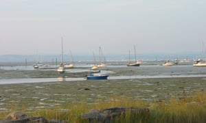 Evening in Chichester Harbour.