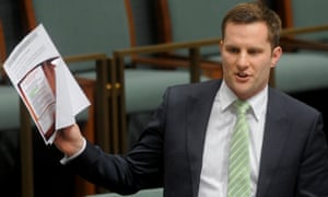 The assistant immigration minister, Alex Hawke,