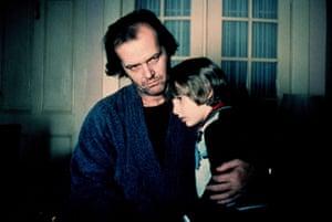 Jack Nicholson and Danny Lloyd in The Shining.