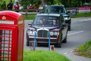 Queen Elizabeth attending church in Scotland on Sunday