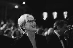 Meryl Streep enjoys the speeches