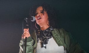 Delightful and strangely moving ... Neneh Cherry.