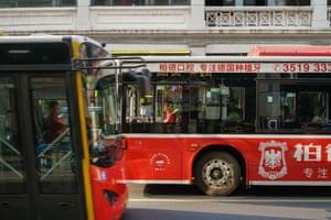 Electric buses in Guangzhou