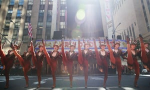 The Rockettes perform on 23 August 2016 in New York City.