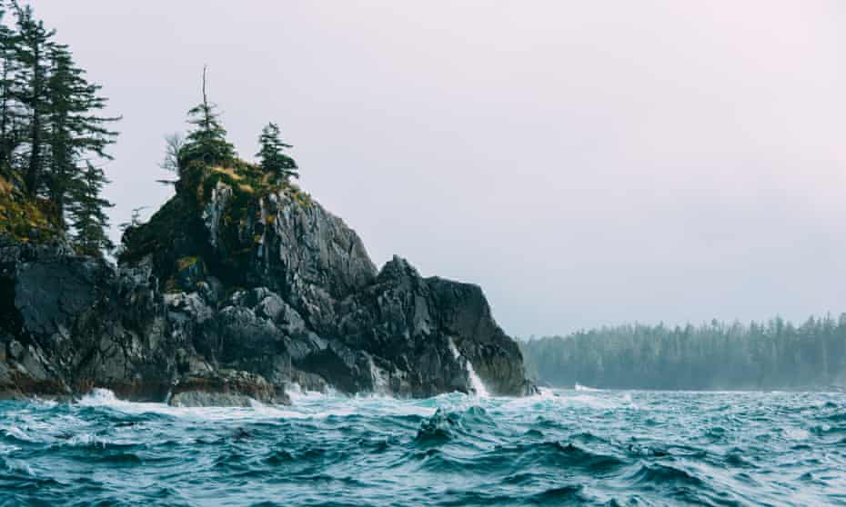 The outer coast at Tongass national forest.