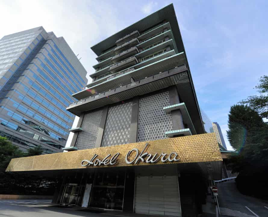 The Hotel Okura, pictured on 11 August 2015, in Tokyo.