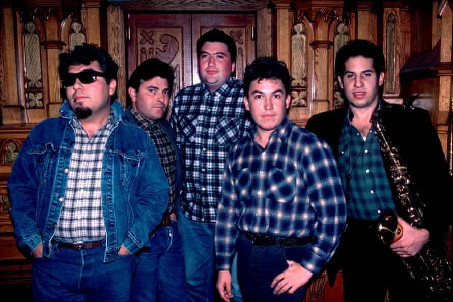 Los Lobos en Chicago, 1984.